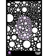 """Bubbles - Prima Elementals Stencil 6.5""""X 10.25"""""""