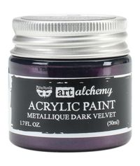 Metallique Dark Velvet - Alchemy Acrylic Paint