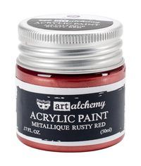 Metallique Rusty Red - Alchemy Acrylic Paint