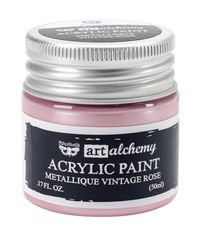 Metallique Vintage Rose - Alchemy Acrylic Paint