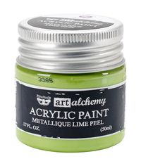 Metallique Lime Peel - Art Alchemy Acrylic Paint