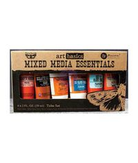 Art Basics Mixed Media Essentials 2 Ounces 6/Pkg