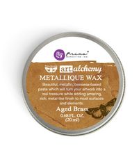 Aged Brass - Metallique Wax