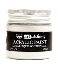 Metallique White Pearl - Alchemy Acrylic Paint