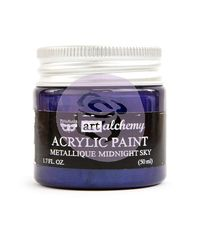 Metallique Midnight Sky - Alchemy Acrylic Paint