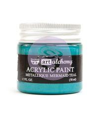 Metallique Mermaid Teal - Alchemy Acrylic Paint