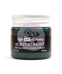 Metallique Dark Forest - Alchemy Acrylic Paint