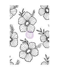 Tossed Floral - Stamp
