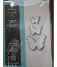 Cascadia Butterfly Trio craft - Die