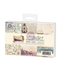 "French Riviera Journaling Cards 4""X6"""