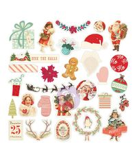 Sweet Peppermint Chipboard & More