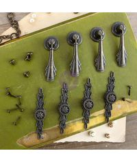 Chambrey Antique Pulls - Memory Hardware Embellishments
