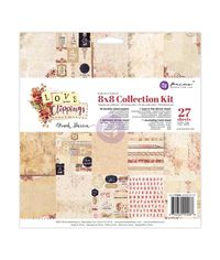"Frank Garcia Love Clippings - Collection Kit 8""X8"""