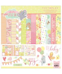 """About A Little Girl Collection Pack 12""""X12"""""""