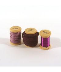 Twist and Tie Set - Violet