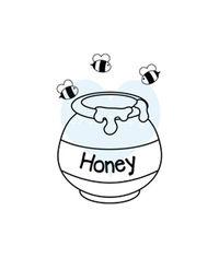 Honey Pot - Stamp