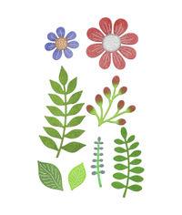 Floral Bouquet Kit - 8 Piece Die Set