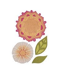 Mehndi Botanicals 2 Die Set