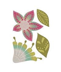 Mehndi Botanicals 4 Die Set