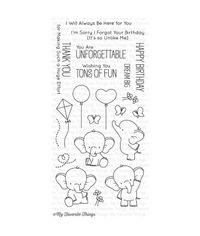 Adorable Elephants - Stamp