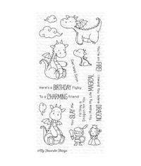 Magical Dragons - Stamp