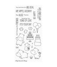 BB Happy Hippos - Stamps