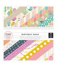 "Birthday Bash 6""X6"" Paper Pad 36/Pkg"