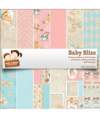 "Baby Bliss Paper Pack 12""x12"", 36/pkg"