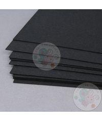 Black Cardstock - 300 GSM
