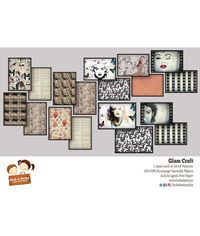 Glam Craft - A4 Decoupage Papers