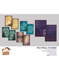 Next to Silence - Buddha - A4 Decoupage Page