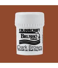 Brusho Crystal Colour 15g - Dark Brown