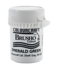 Brusho Crystal Colour 15g - Emerald Green