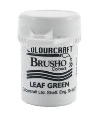 Brusho Crystal Colour 15g - Leaf Green