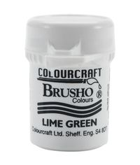 Brusho Crystal Colour 15g - Lime Green