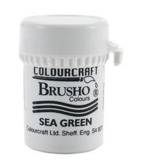 Brusho Crystal Colour 15g - Sea Green