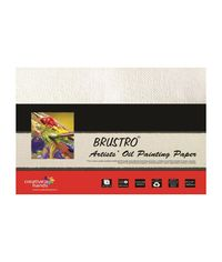 "Brustro Artists' Oil Painting Papers 300 GSM - 9"" x 12"""