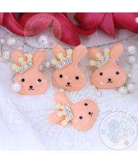 Crown Bunny - Peach