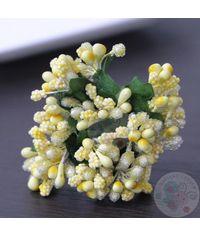 Sunshine Yellow - Crystal Beaded Pollens