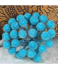 Crystal Beaded Single Pollens - Blue