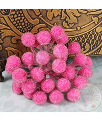 Crystal Beaded Single Pollens - Pink