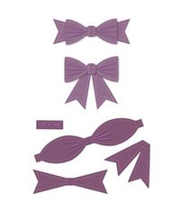 Classic 3D Itty Bitty Bow - Die