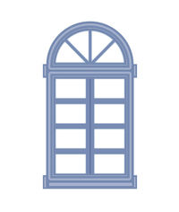 Arched Window/Door - Kinetics Collection Die
