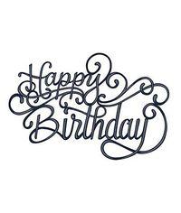Scripted Happy Birthday - Die