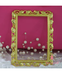 Curved Golden Frame - Small