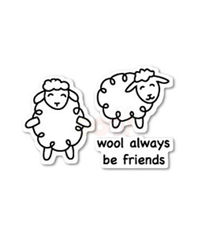 Wool Be Friends - Stamp