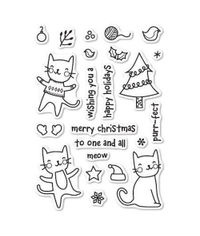 Purrfect Holidays - Stamp
