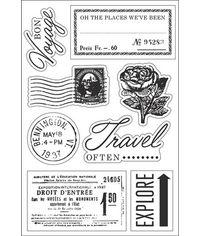 Bon Voyage - Stamp