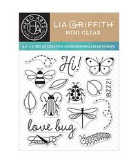 "Love Bug Hero Arts Clear Stamps By Lia 3""X3"""