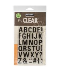 Luggage Tag Alphabet - Stamp